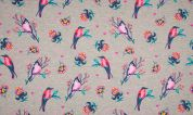 French Terry Sweatshirt Fabric  Multicoloured