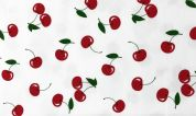 Cotton Jersey Knit Fabric  Cherry