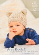 King Cole Aran Book 2 Knitting Pattern Book  Aran