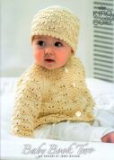 King Cole Baby Book 2 Knitting Pattern Book  3 Ply, 4 Ply, DK