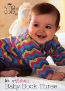 King Cole Baby Book 3 Knitting Pattern Book  DK