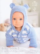 King Cole Baby Book 5 Knitting Pattern Book  DK