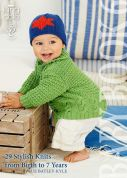 King Cole Baby Book 6 Knitting Pattern Book  DK