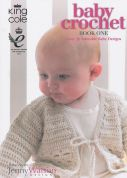 King Cole Baby Book 1 Crochet Pattern Book  DK