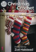 King Cole Christmas Book 1 Crochet Pattern Book  DK