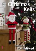 King Cole Christmas Knits 4 Knitting Pattern Book