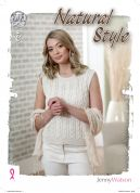 King Cole Natural Styles Knitting Pattern Book  DK