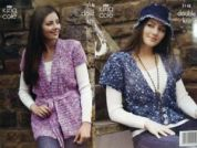 King Cole Ladies Cardigans Knitting Pattern 3148  DK