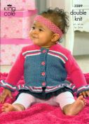 King Cole Baby Jackets & Bolero Big Value Knitting Pattern 3289  DK