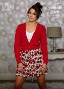 King Cole Ladies Cardigans Cottonsoft Knitting Pattern 3541  DK