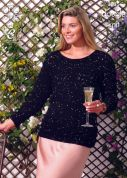 King Cole Ladies Top & Cardigan Galaxy Knitting Pattern 3635  DK