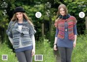King Cole Ladies Waistcoat & Jacket The Ultimate Knitting Pattern 3780  Super Chunky