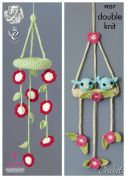 King Cole Baby Mobiles Cherish Crochet Pattern 9037  DK