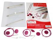 Knit Pro Nova Metal Interchangeable Knitting Needle Starter Set