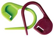 Knit Pro Knitting Locking Stitch Markers Plastic