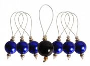 Knit Pro Zooni Knitting Stitch Bead Markers  Bluebell