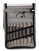 Knit Pro Karbonz Interchangeable Knitting Needle Deluxe Set Normal