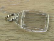 Oblong Blank Keyrings