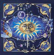 Janlynn Counted Cross Stitch Kit Celestial