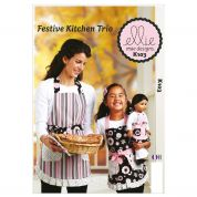 Kwik Sew Ladies, Childrens & Doll Clothes Easy Sewing Pattern 0103 Aprons & Pot Holders