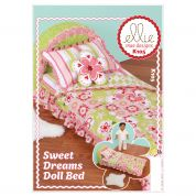 Kwik Sew Crafts Easy Sewing Pattern 0105 Sweet Dreams Doll Bed
