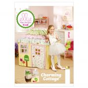 Kwik Sew Childrens Sewing Pattern 0108 Charming Cottage Play House