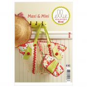 Kwik Sew Accessories Sewing Pattern 0110 Maxi & Mini Hand Bags