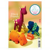 Kwik Sew Crafts Easy Sewing Pattern 0116 Ellie & Friends Animal Toys