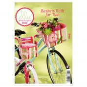 Kwik Sew Crafts Easy Sewing Pattern 0117 Bicycle Baskets