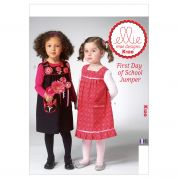 Kwik Sew Toddlers Easy Sewing Pattern 0120 Summer Pinafore's