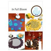 Kwik Sew Crafts Easy Sewing Pattern 0123 Placemat, Coaster & Silverware Case