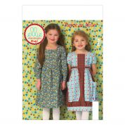 Kwik Sew Childrens Sewing Pattern 0147 Girls Pretty Dresses