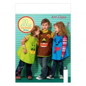 Kwik Sew Childrens Easy Sewing Pattern 0154 Animal Face Smocks