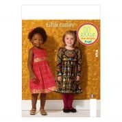 Kwik Sew Childrens Sewing Pattern 0156 Girls Cute Dresses