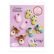 Kwik Sew Baby Easy Sewing Pattern 0170 Novelty Animal Booties