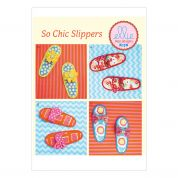 Kwik Sew Ladies Easy Sewing Pattern 0178 Summer Slippers with Bow