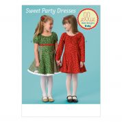 Kwik Sew Childrens Sewing Pattern 0185 Swirl Dresses