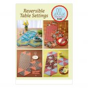 Kwik Sew Homeware Easy Sewing Pattern 0186 Napkins, Placemats & Runners