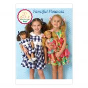Kwik Sew Girls & Doll Clothes Sewing Pattern 0193 Matching Dresses