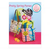 Kwik Sew Accessories Easy Sewing Pattern 0195 Pretty Spring Bags