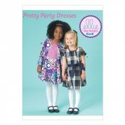 Kwik Sew Girls Sewing Pattern 208 Dresses with Front Inverted Pleat Skirt