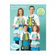 Kwik Sew Family Easy Sewing Pattern 209 Aprons with Fun Appliques