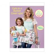 Kwik Sew Girls, Ladies & Dolls Easy Sewing Pattern 0223 Matching Aprons