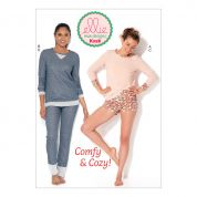 Kwik Sew Ladies Easy Sewing Pattern 0228 Casual Tops, Shorts & Pants