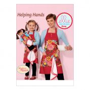 Kwik Sew Ladies, Girls & Dolls Ellie Mae Easy Sewing Pattern 0229 Aprons with Detachable Towel
