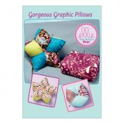 Kwik Sew Home Easy Sewing Pattern 0231 Graphic Cushions & Pillows