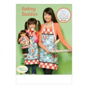 Kwik Sew Ladies, Girls & Dolls Easy Sewing Pattern 234 Lined Aprons