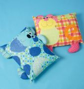 Kwik Sew Homeware & Sew Sweet Chic Easy Sewing Pattern 171 Animal Pillow Cushions