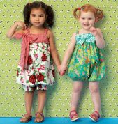 Kwik Sew Toddlers Sewing Pattern 174 Rompers