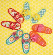 Kwik Sew Ladies Easy Sewing Pattern 178 Chic Slippers